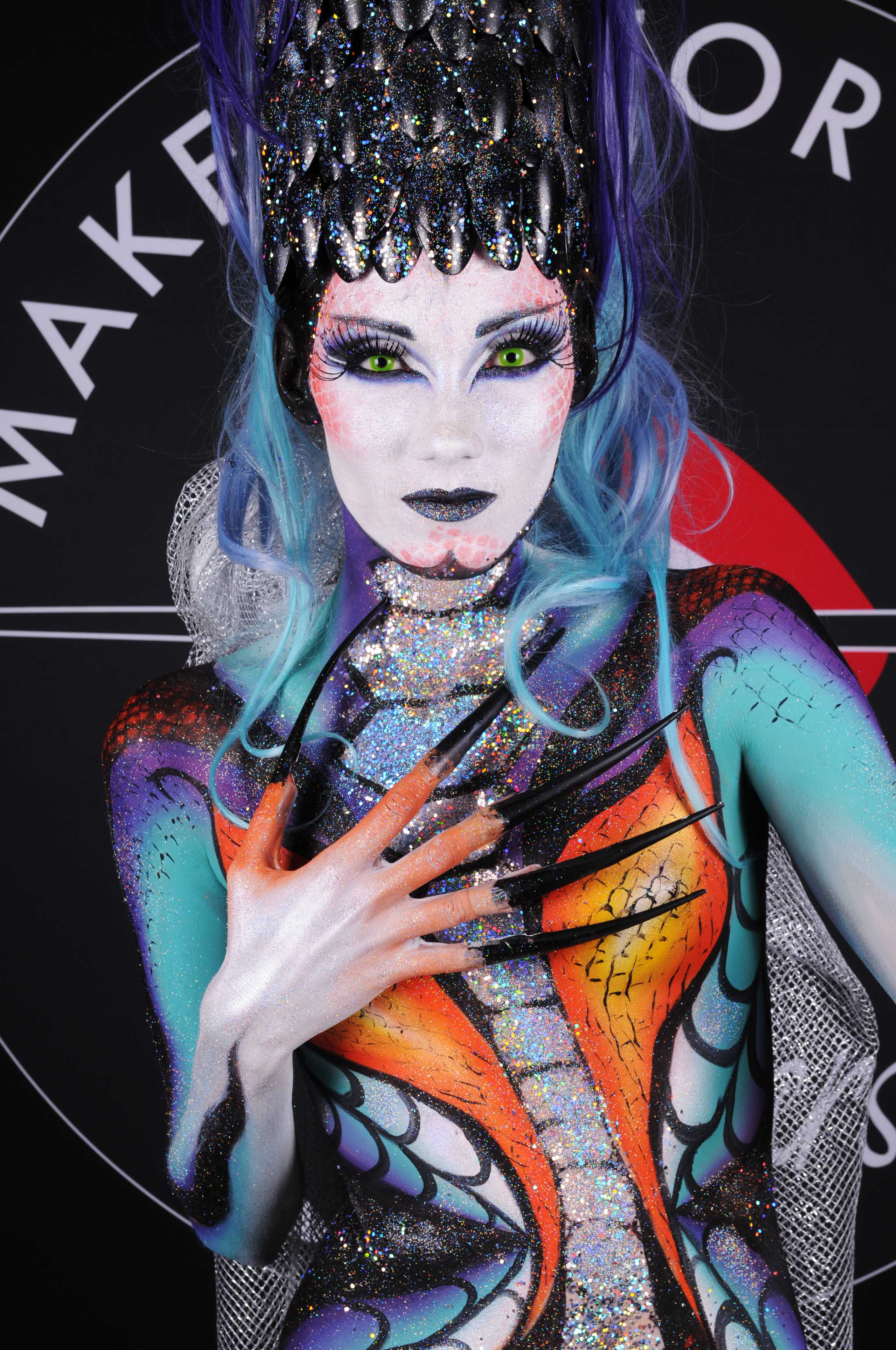 Body Painting pour Make Up For Ever et Sephora Hotel Palladia à Toulouse