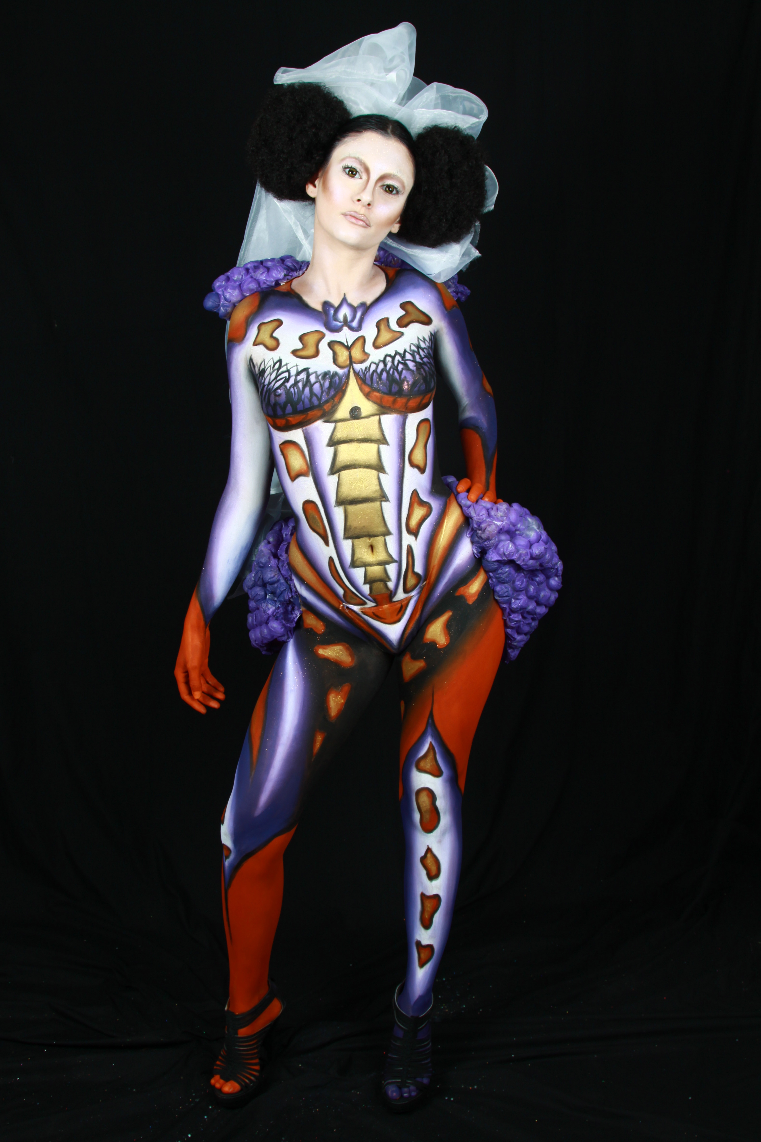 Body Painting examen Make up for ever Make Up For Ever Academy Nice